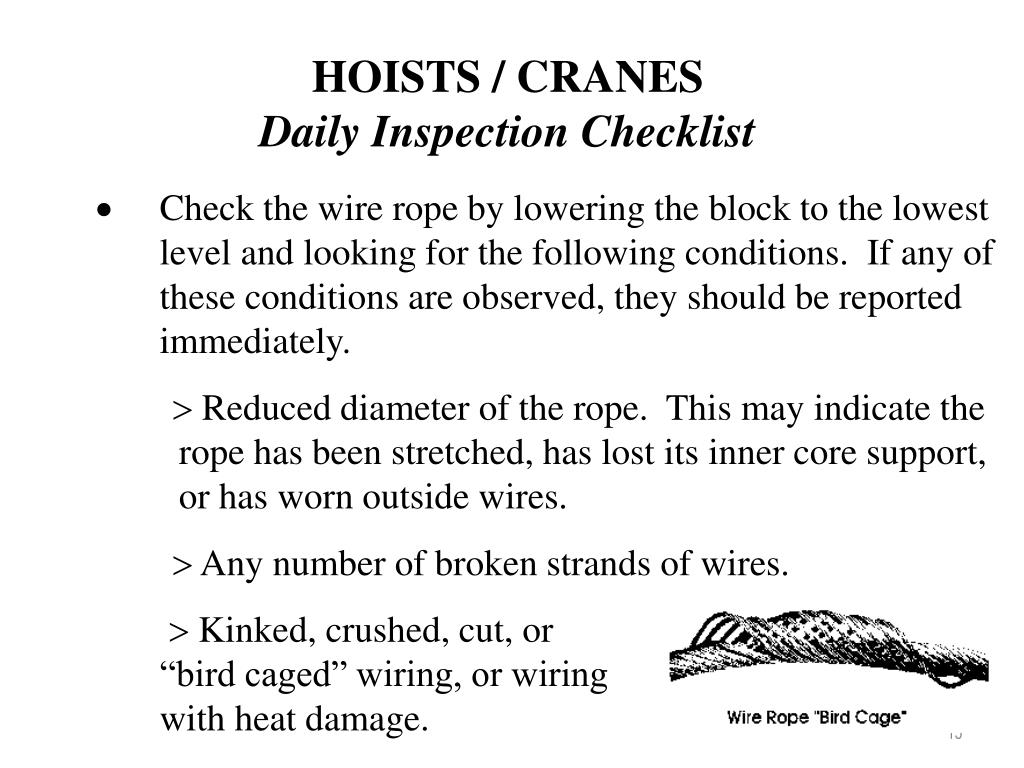 Perfect Wire Rope Inspection Powerpoints Illustration - Electrical ...
