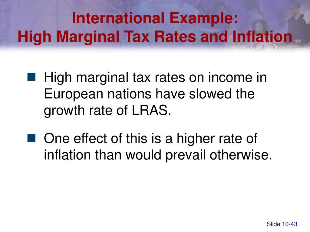 International Example: