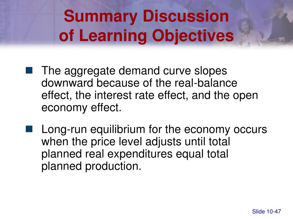 Summary Discussion