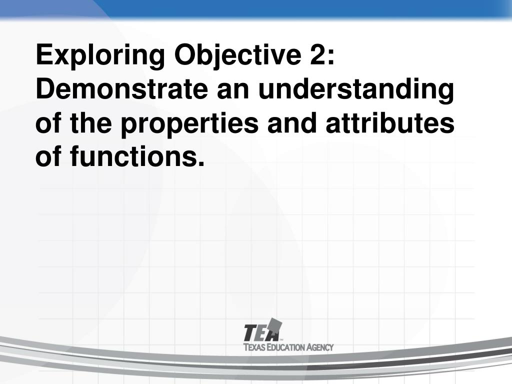 Exploring Objective 2: