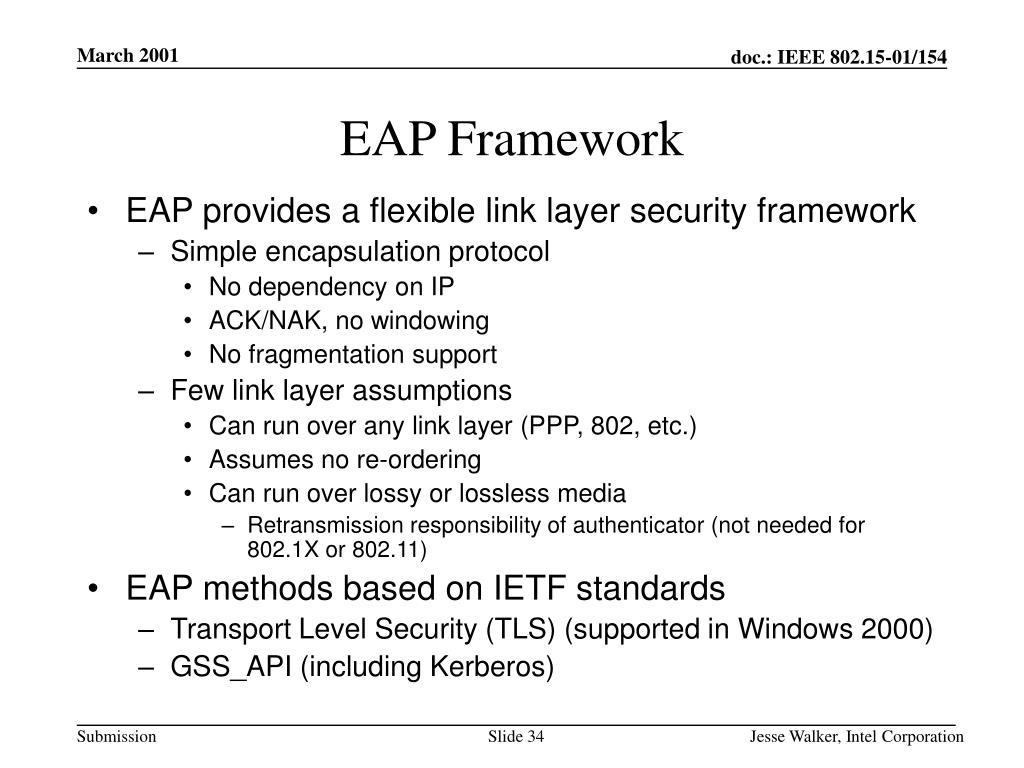 EAP Framework
