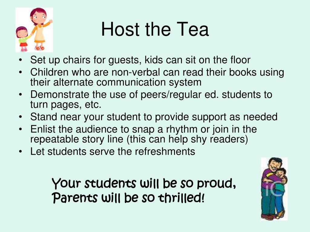 Host the Tea