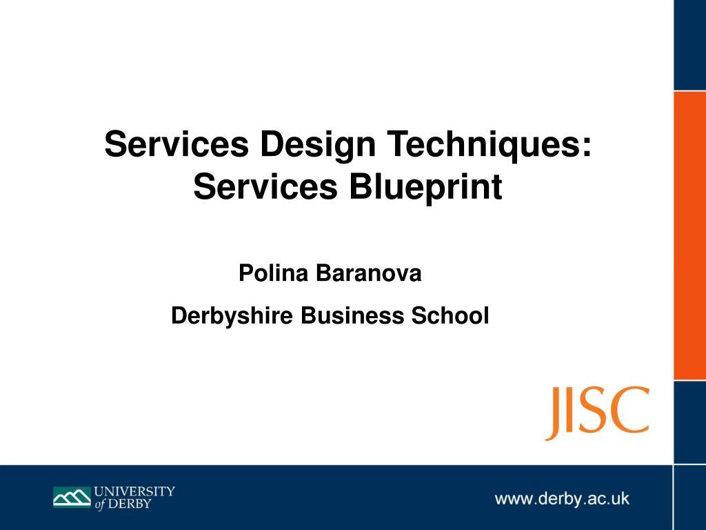 Services Design Techniques: