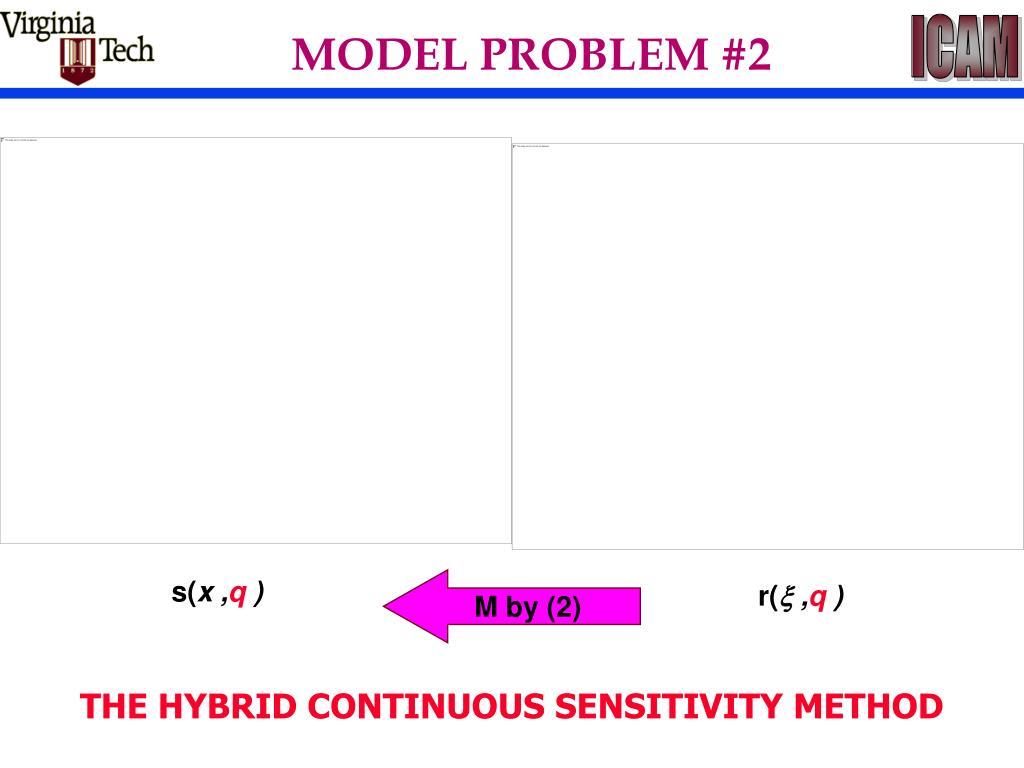 MODEL PROBLEM #2