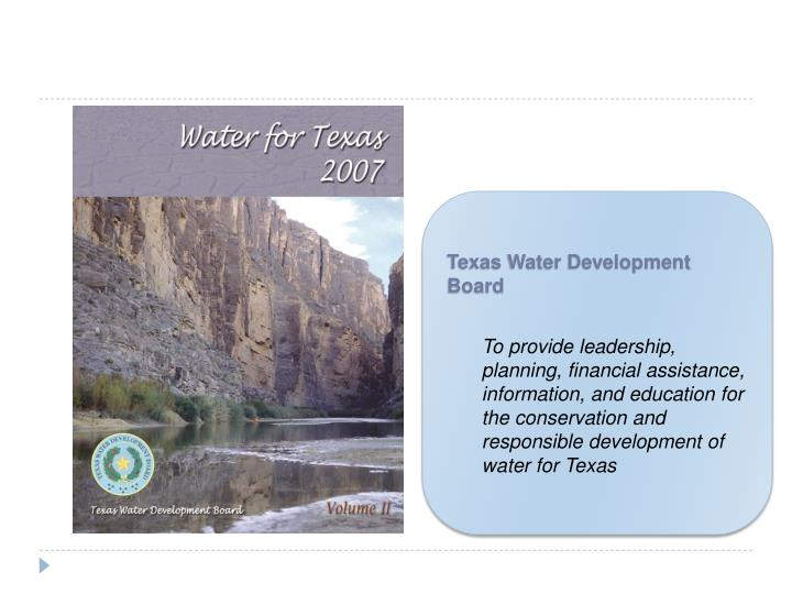 Texas Water Development Board
