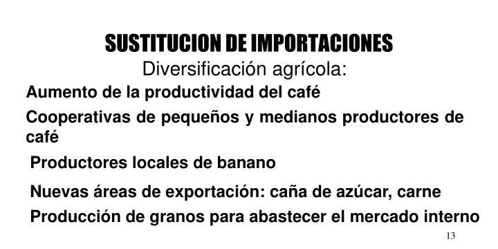 SUSTITUCION DE IMPORTACIONES