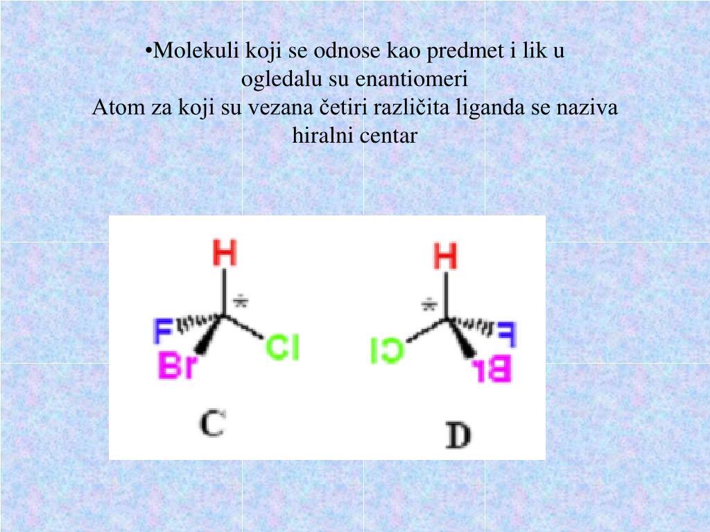 Molekuli koji se odnose kao predmet i lik u