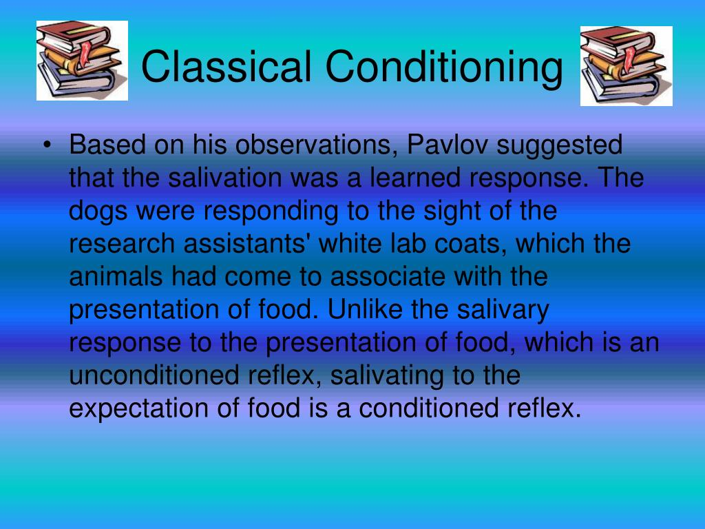 ivan pavlov classical conditioning pdf