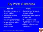key points of definition