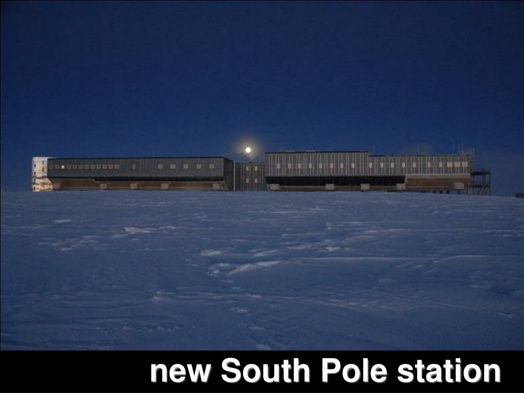 new South Pole station