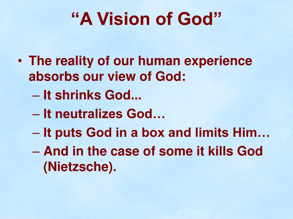 god and vision This is vision of god flood on earth i saw flood waters swiping over the earth as it  was in noah's time but the waters were not of rain and i heard a.