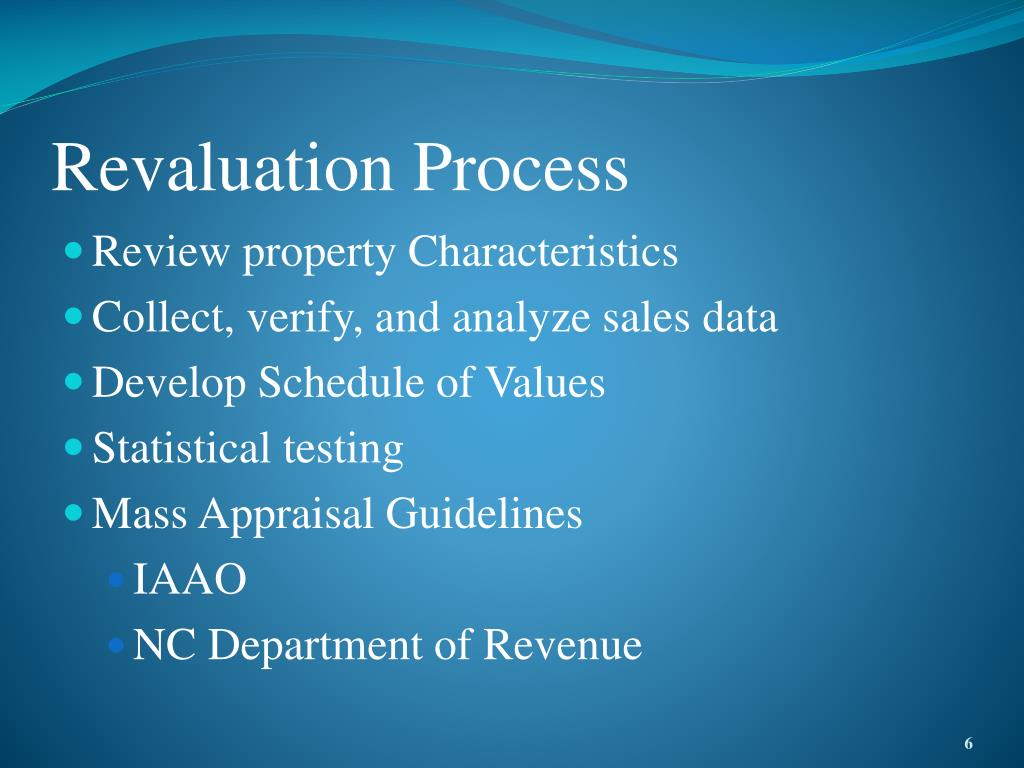 Revaluation Process