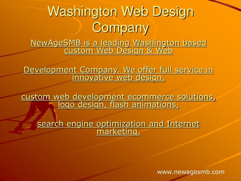 washington web design company