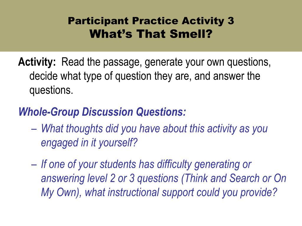 Participant Practice Activity 3