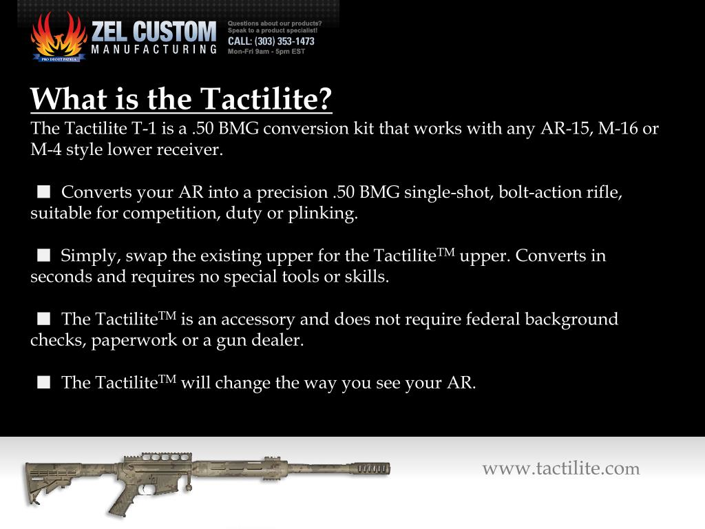 What is the Tactilite?