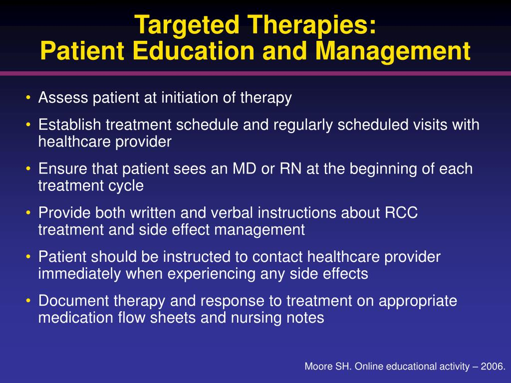 Targeted Therapies: