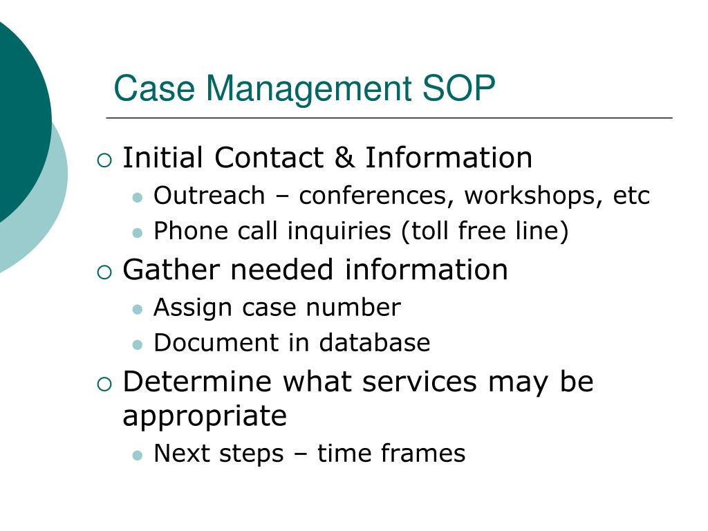 sop on it management Standard operating procedure, sop is mandated by department of commerce ocio it policy as essential to establishing program management.