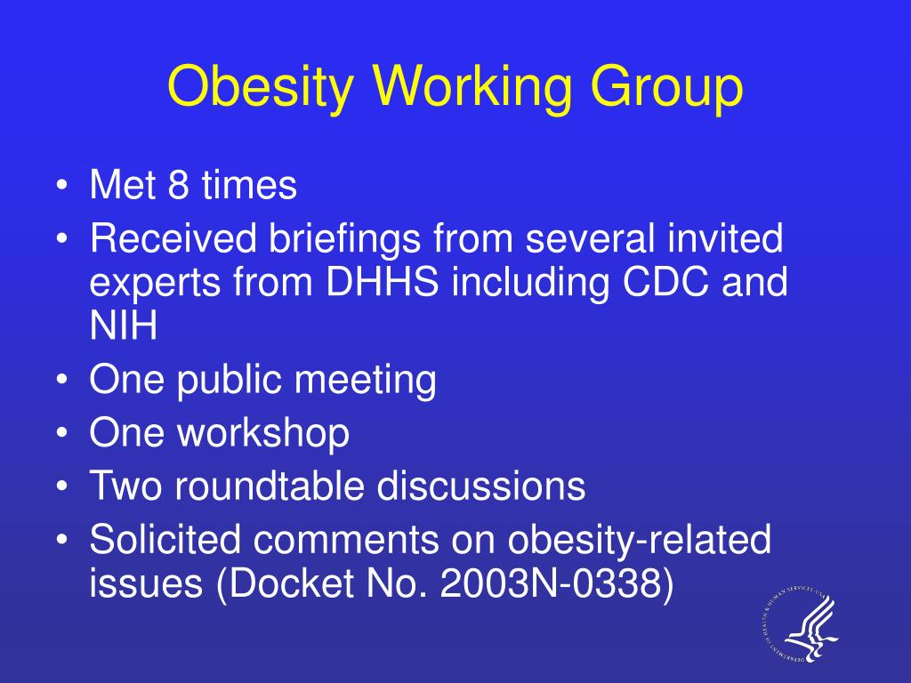 Obesity Working Group