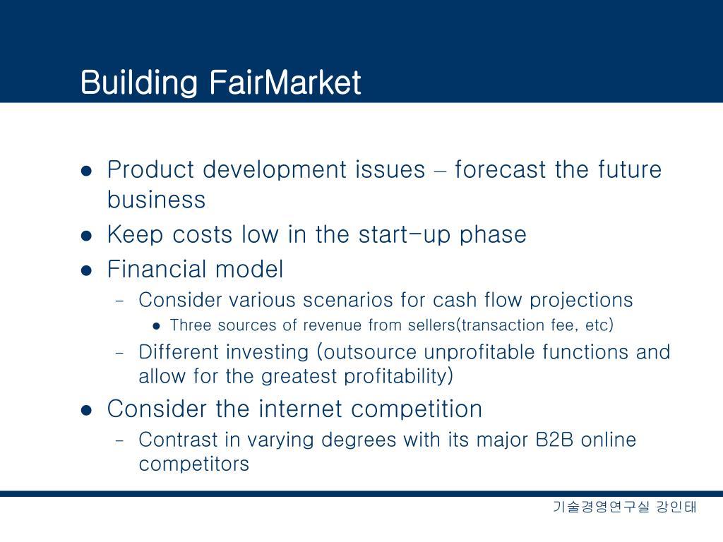 Building FairMarket
