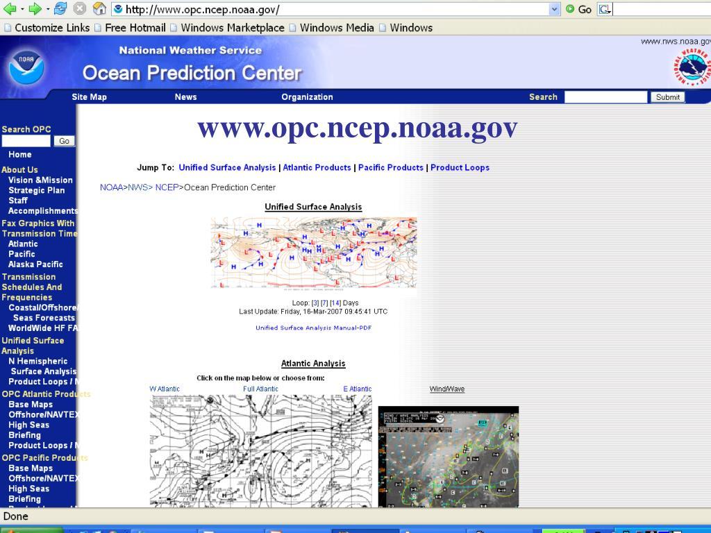 www.opc.ncep.noaa.gov