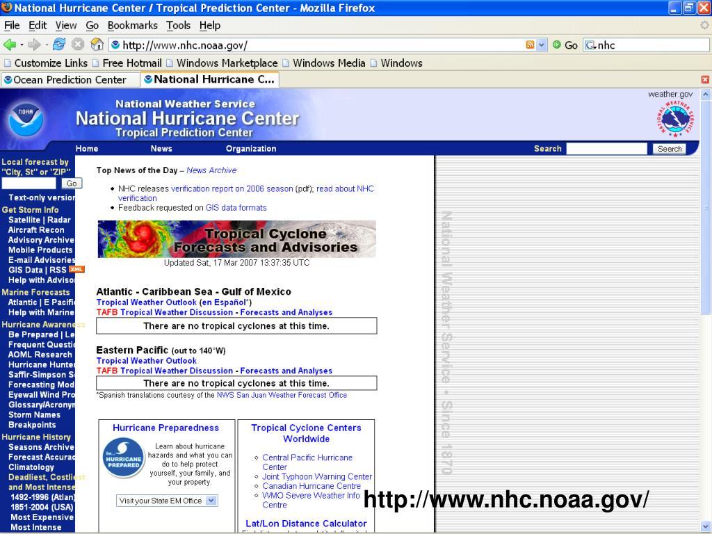 http://www.nhc.noaa.gov/