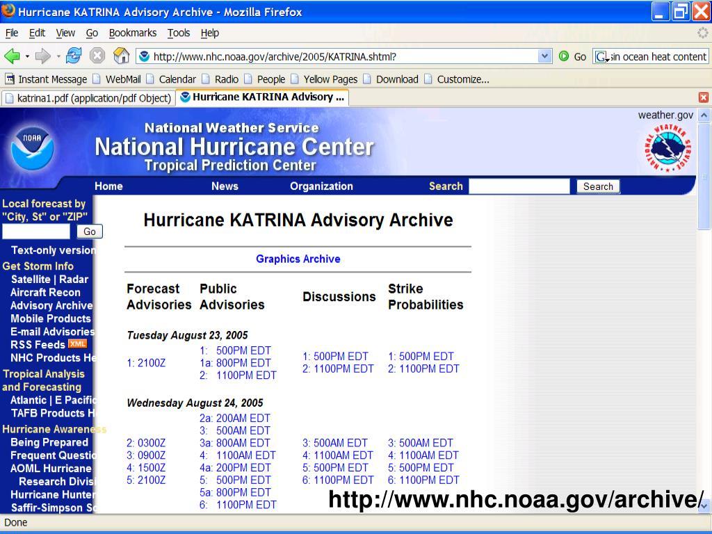 http://www.nhc.noaa.gov/archive/