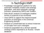 h techsight kmp