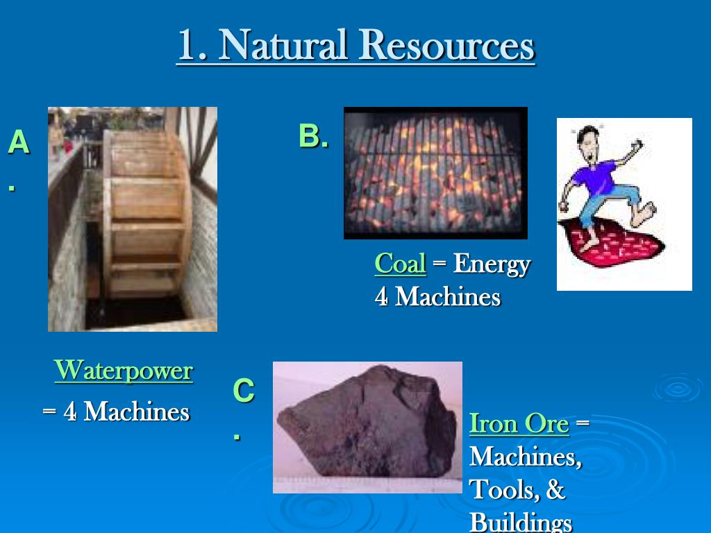 1. Natural Resources