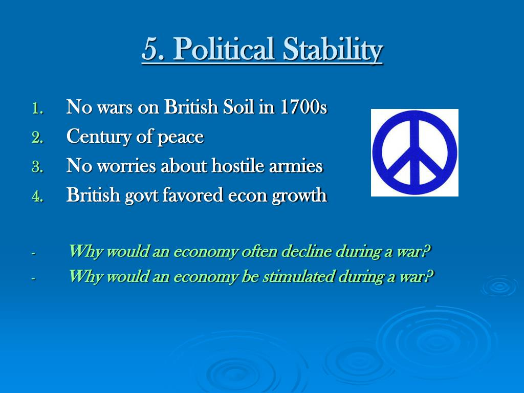 5. Political Stability