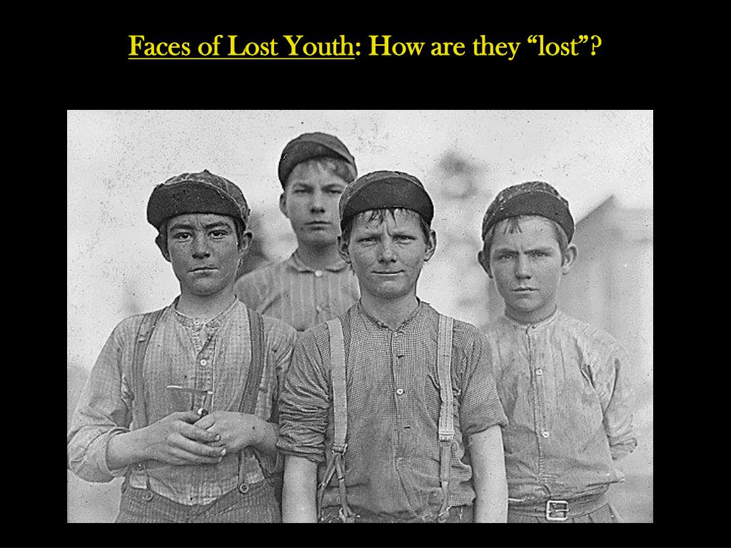 Faces of Lost Youth