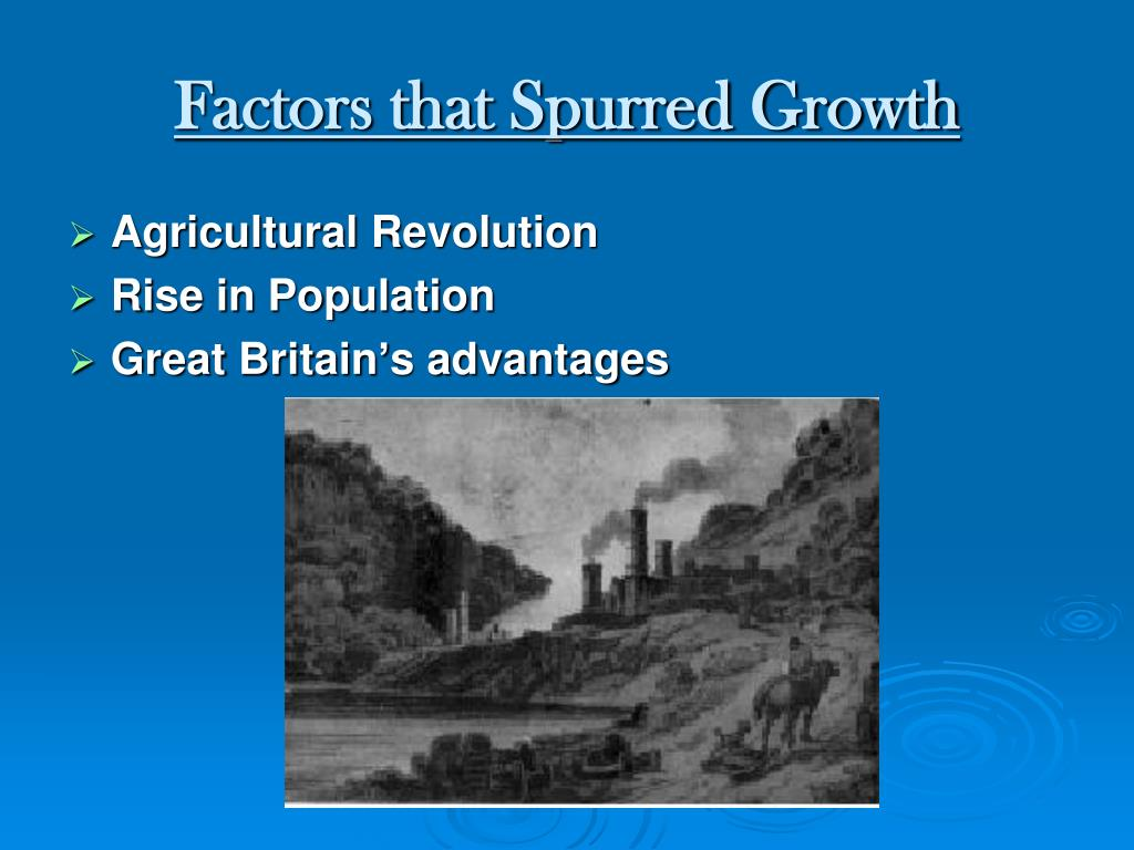 Factors that Spurred Growth