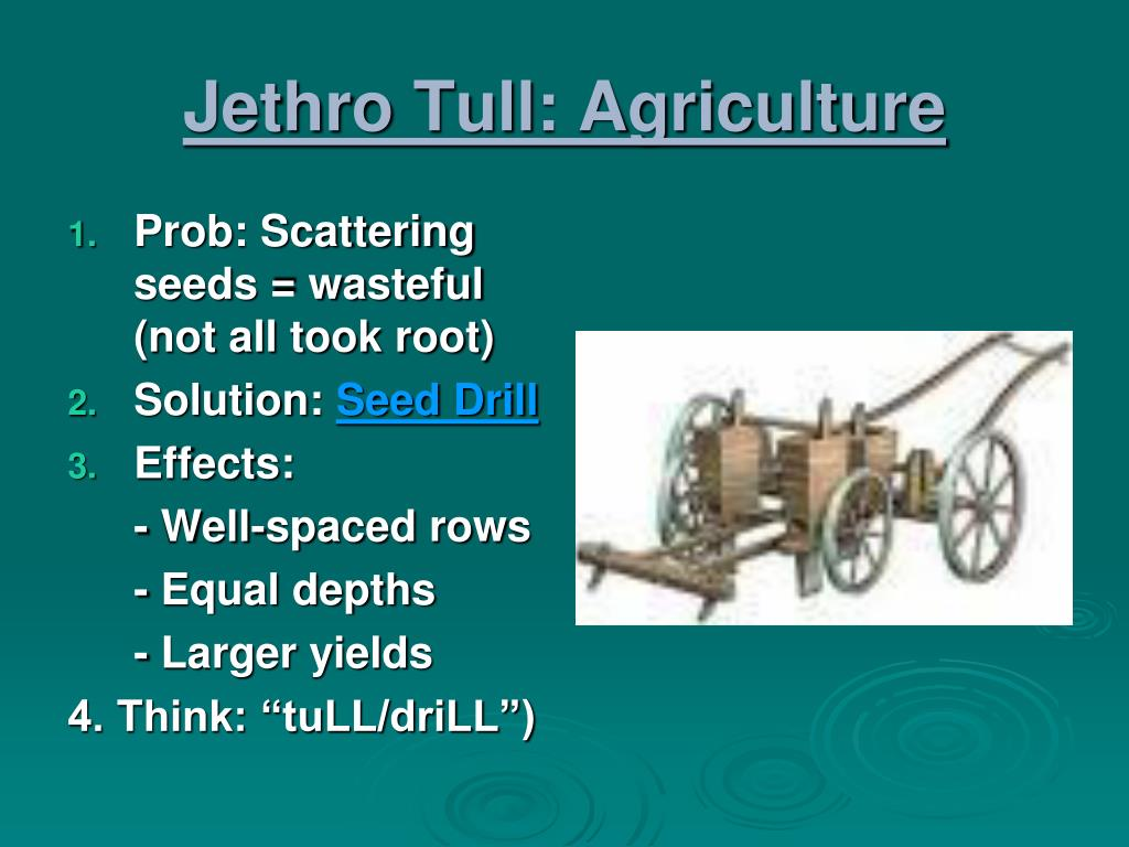 Jethro Tull: Agriculture