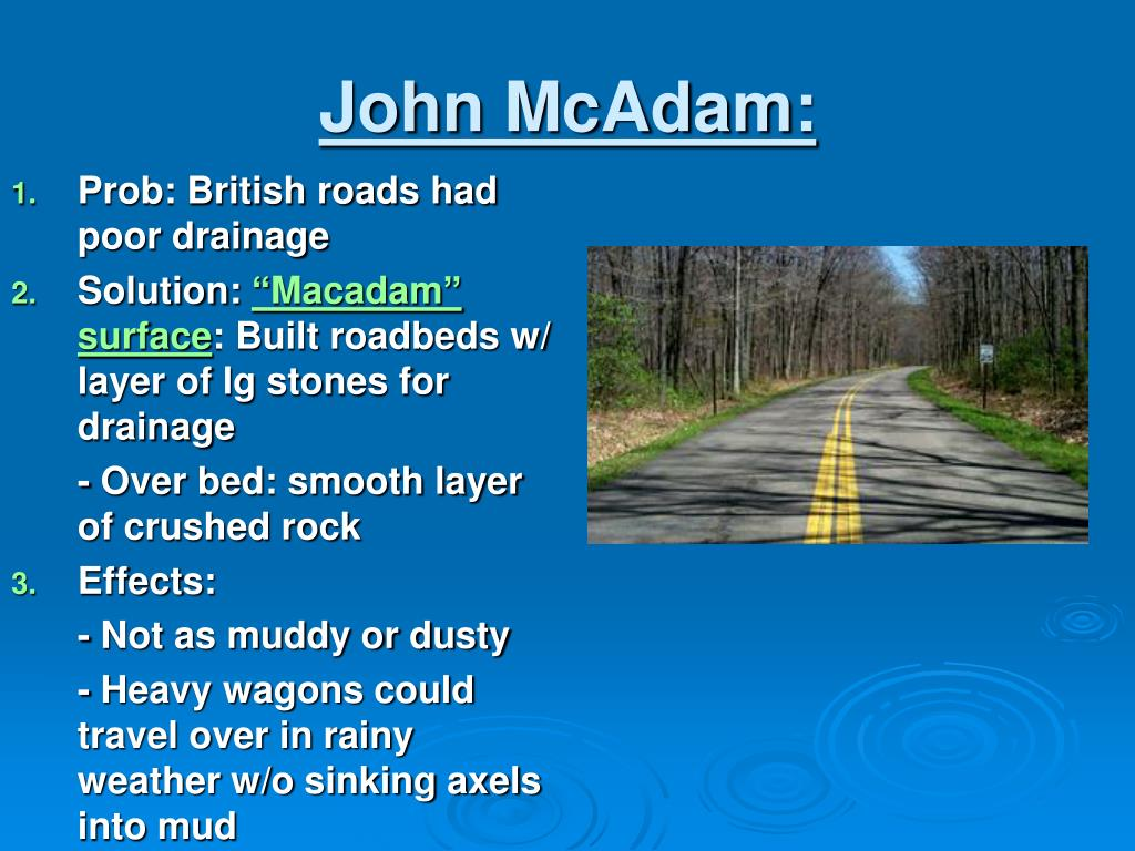 John McAdam: