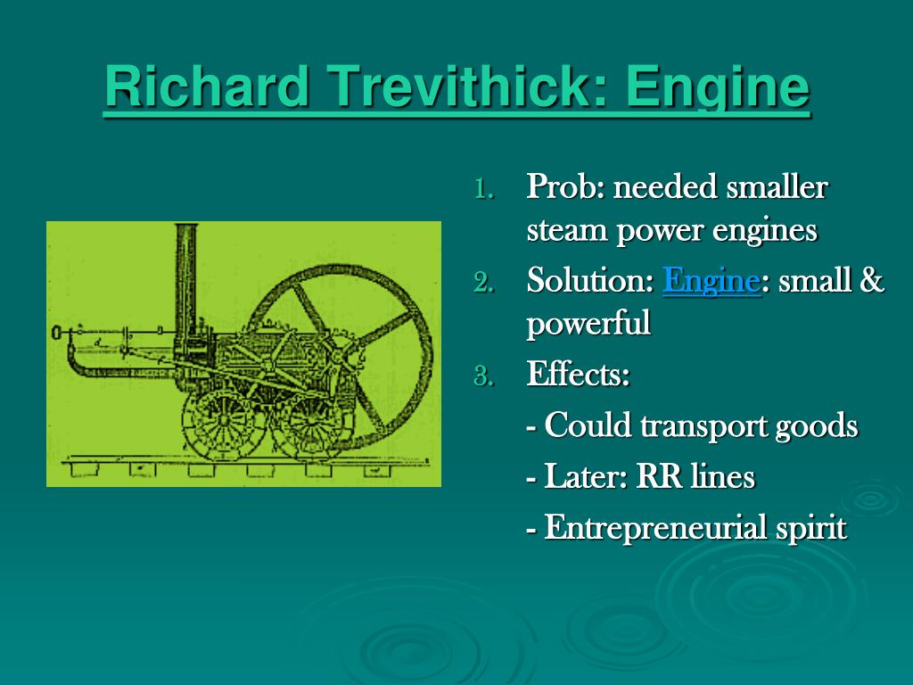 Richard Trevithick: Engine