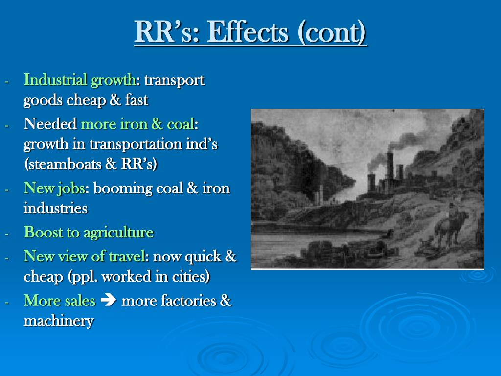 RR's: Effects (cont)