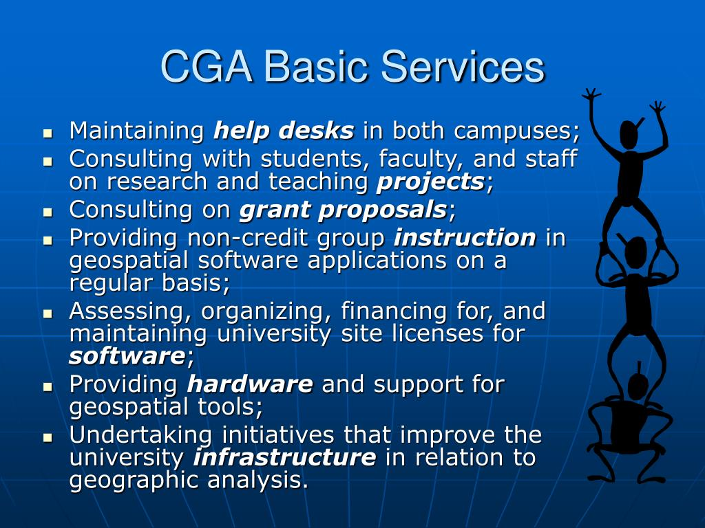 CGA Basic Services
