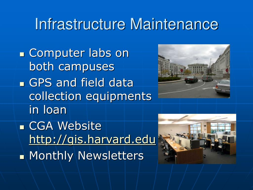 Infrastructure Maintenance