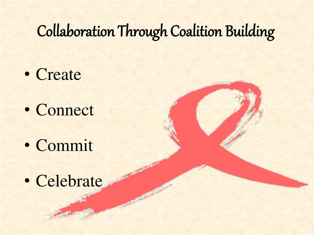Collaboration Through Coalition Building