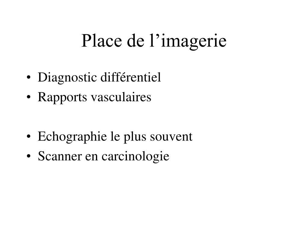 Place de l'imagerie