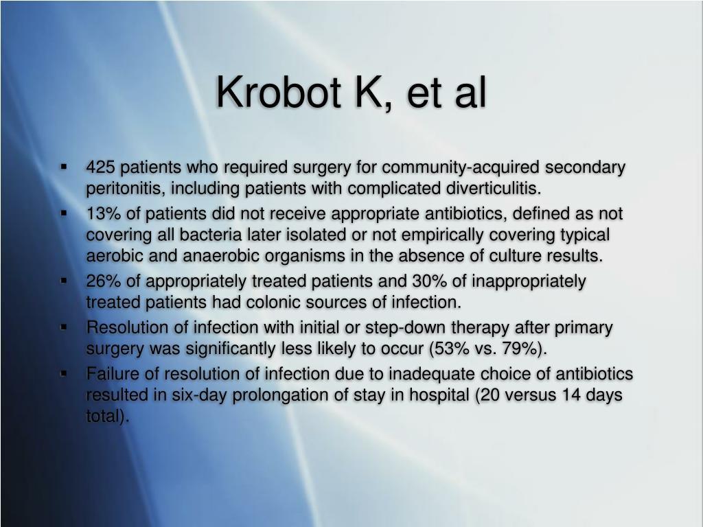 Krobot K, et al