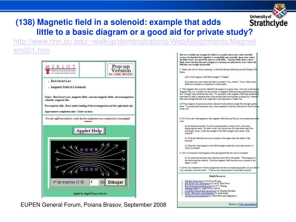 (138) Magnetic field in a solenoid: example that adds