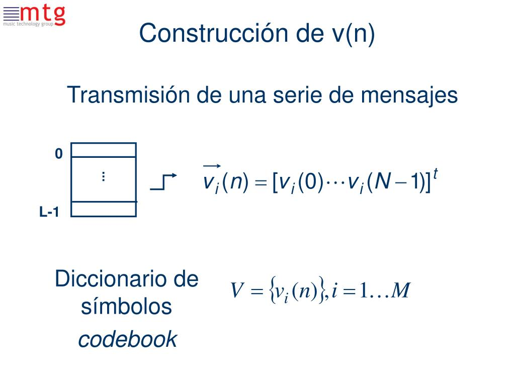 Construcción de v(n)