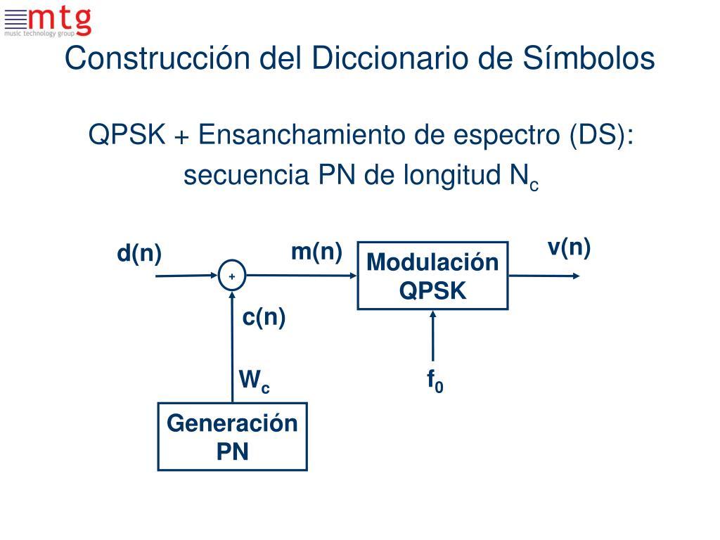 Construcción del Diccionario de Símbolos