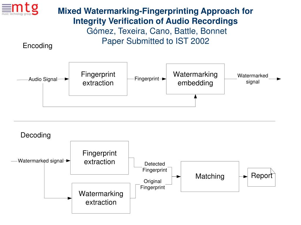 Mixed Watermarking-Fingerprinting Approach for