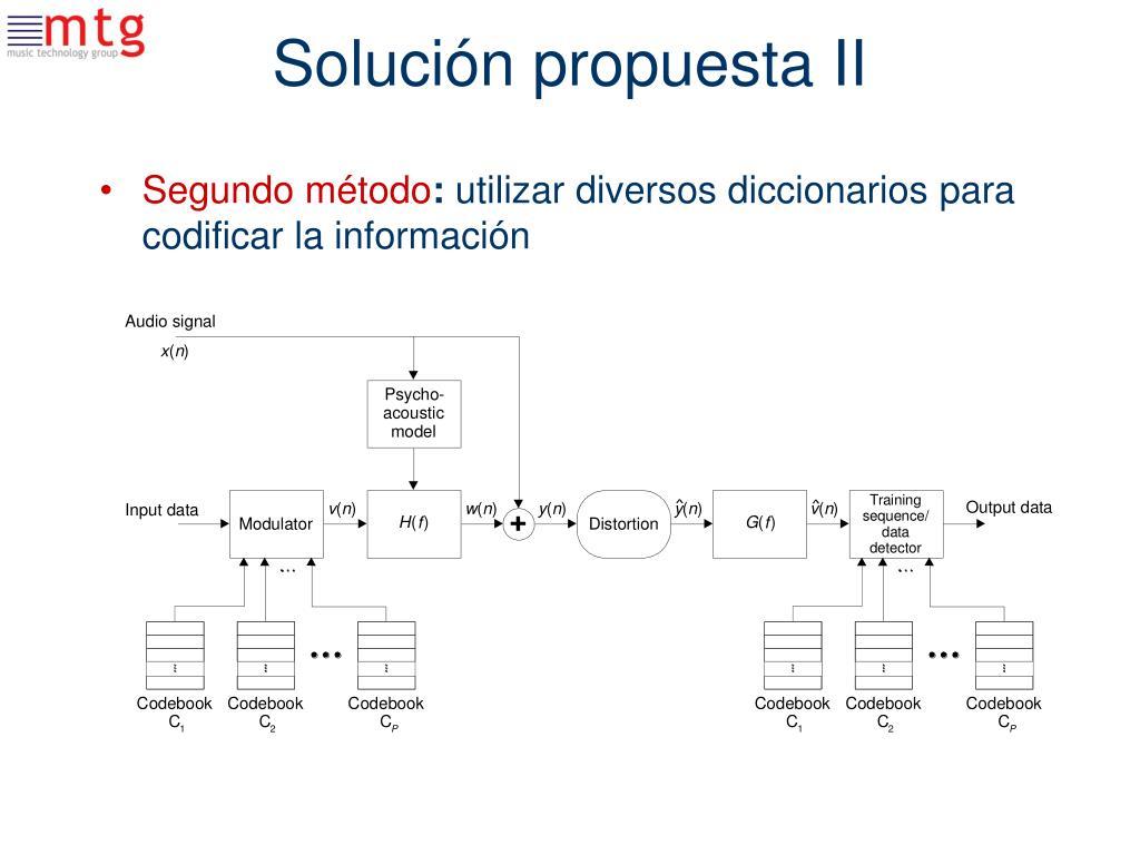 Solución propuesta II