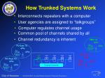 how trunked systems work