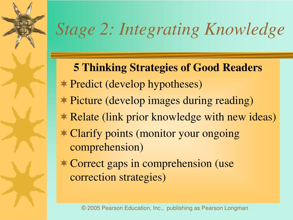 Stage 2: Integrating Knowledge