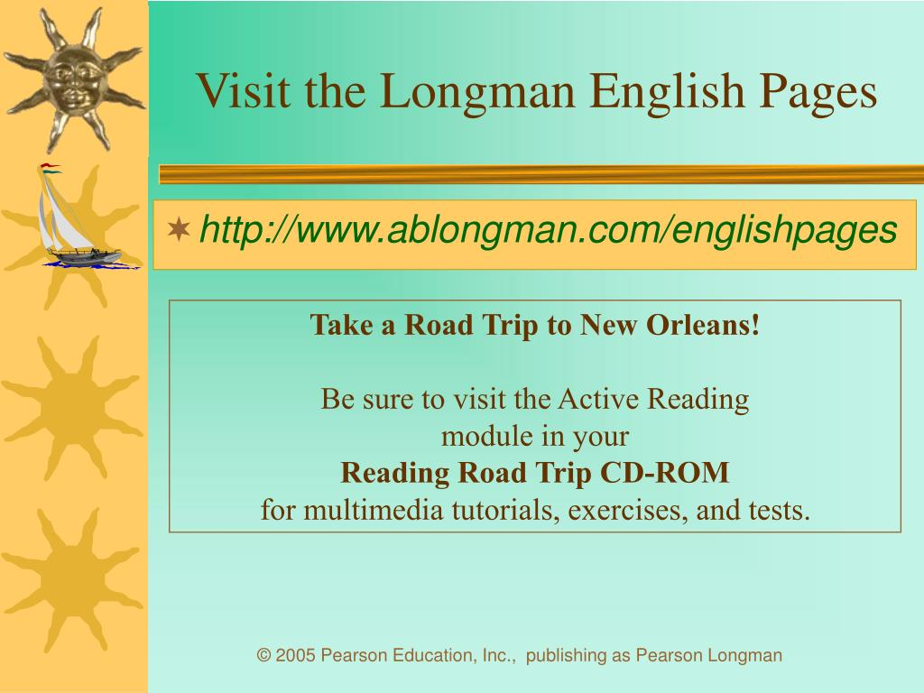Visit the Longman English Pages
