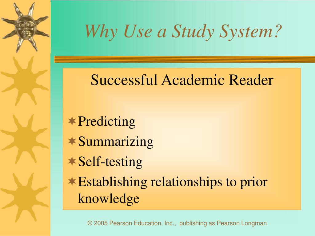 Why Use a Study System?