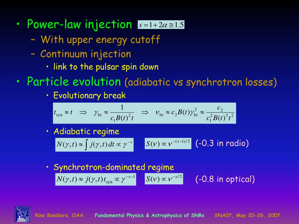Power-law injection